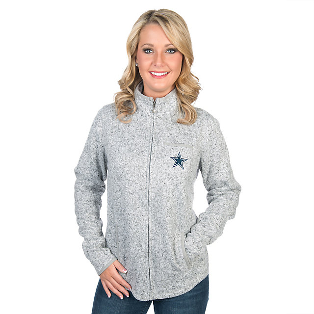 Dallas Cowboys Cary Full-Zip Sweater Jacket
