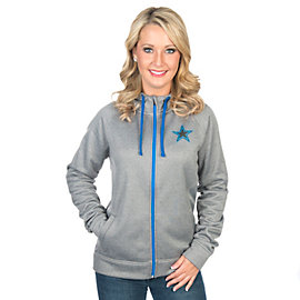 Dallas Cowboys Shock Diamondfield Training Full-Zip Hoody