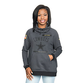 Dallas Cowboys Nike Salute to Service Rally Funnel Hoody