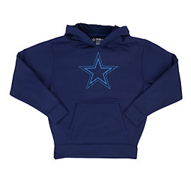 Dallas Cowboys Youth Hatfield Performance Fleece Hoody