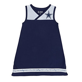 Dallas Cowboys Toddler Roseberry Dress