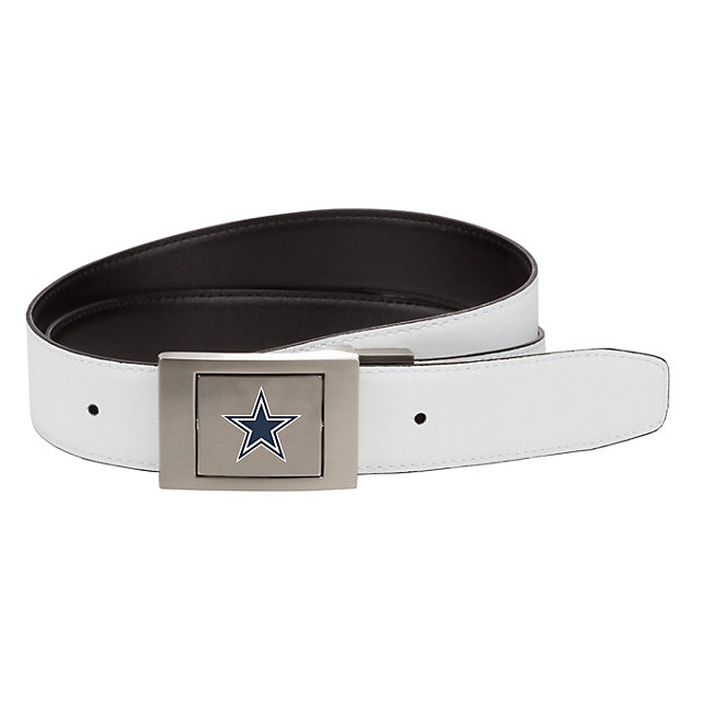 Dallas Cowboys Nike Swivel Plaque Reversible Belt