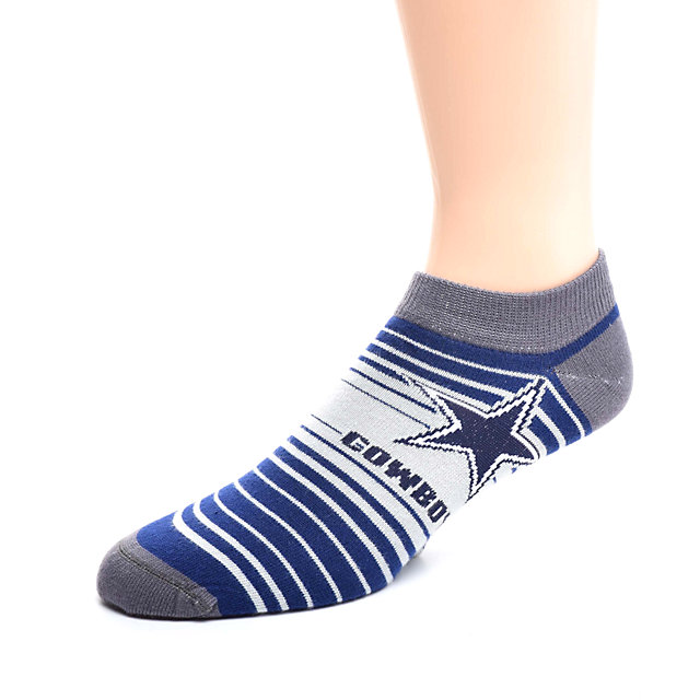 Dallas Cowboys In and Out Stripes Socks