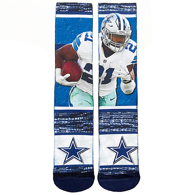 Dallas Cowboys Youth Ezekiel Elliott Sublimated Rush Socks