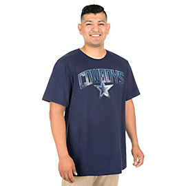 Dallas Cowboys Rescender Wave Short Sleeve Tee