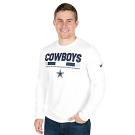Dallas Cowboys Nike Staff Legend Long Sleeve Tee
