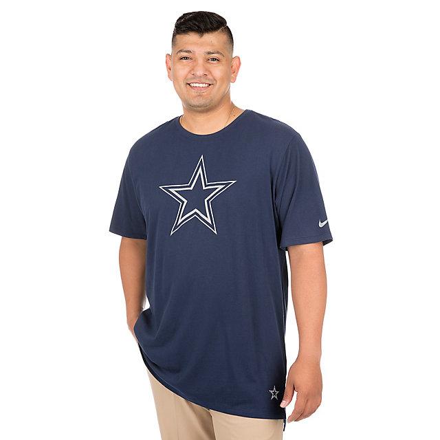 Dallas Cowboys Nike Enzyme Droptail Tee