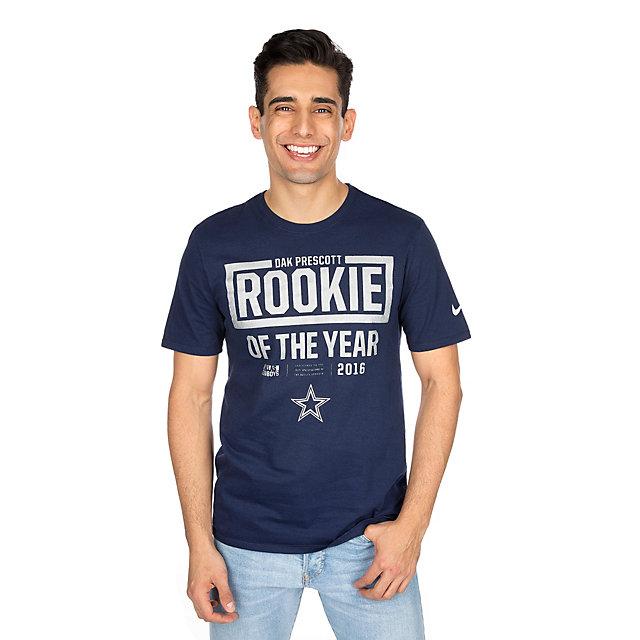 Dallas Cowboys Nike Dak Prescott Rookie of the Year Tee