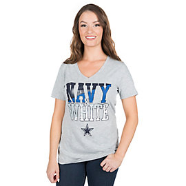 Dallas Cowboys Eva Short Sleeve Tee
