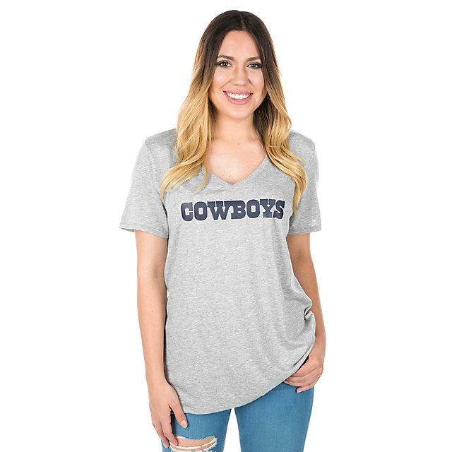 Dallas Cowboys Nike Tri Wordmark Tee