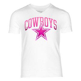 Dallas Cowboys Girls Alexis Tee
