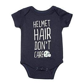 Dallas Cowboys Infant Helmet Hair Bodysuit