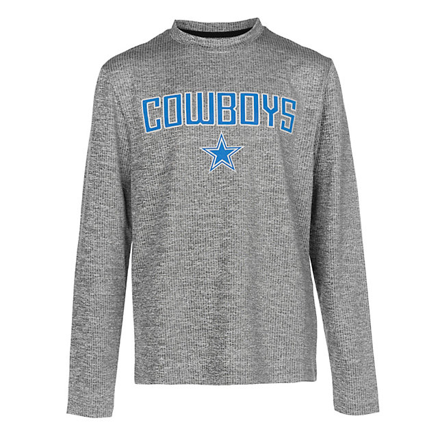 Dallas Cowboys Shock Youth Purlington Long Sleeve Tee
