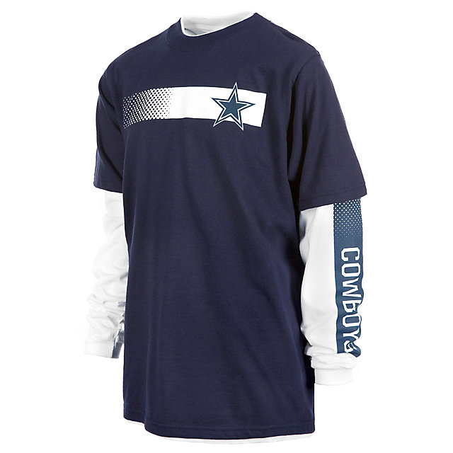 Dallas Cowboys Youth Lackland 3-in-1 Combo Tee