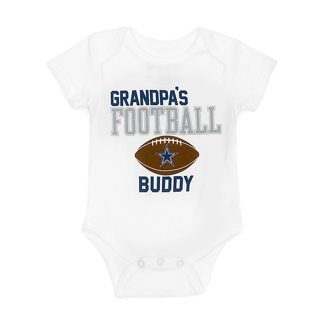 Dallas Cowboys Infant Grandpa Buddy Bodysuit