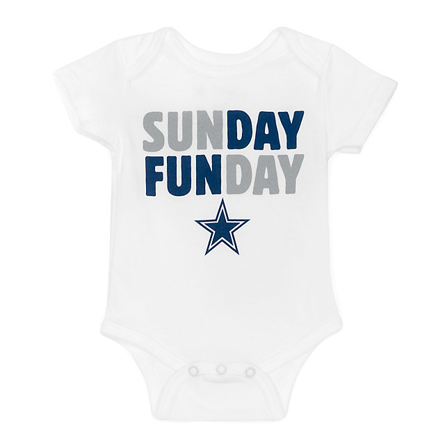 Dallas Cowboys Infant Sunday Funday Bodysuit