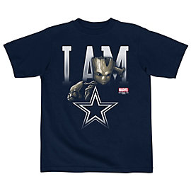 Dallas Cowboys MARVEL Kids Lil Groot Tee