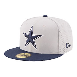 Dallas Cowboys New Era Performance Basic Fitted 59Fifty Cap