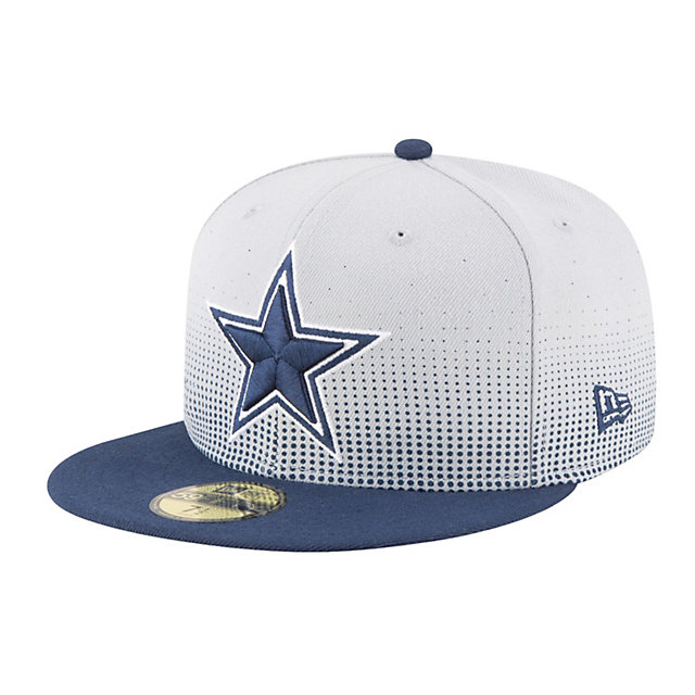 Dallas Cowboys New Era Flow Team Fitted 59Fifty Cap