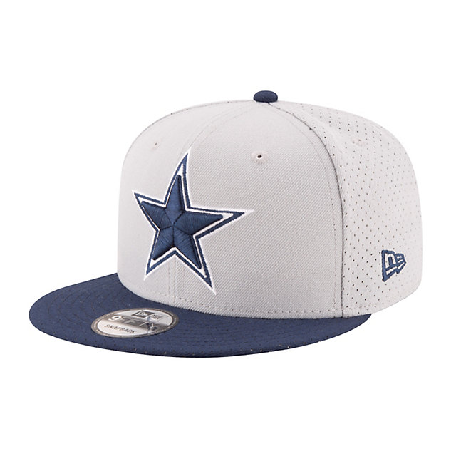 Dallas Cowboys New Era Performance Basic Snap 9Fifty Cap
