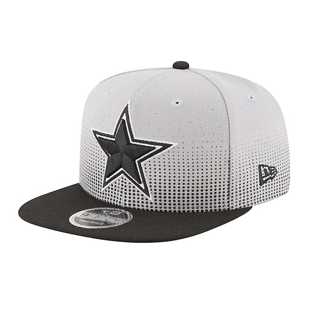 Dallas Cowboys New Era Flow Team Snap 9Fifty Cap