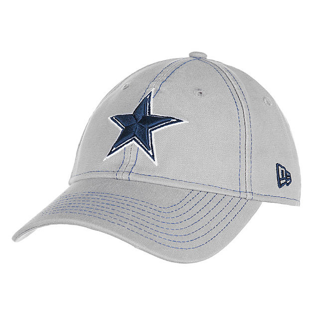 Dallas Cowboys New Era Grey Core Classic 9Twenty Cap