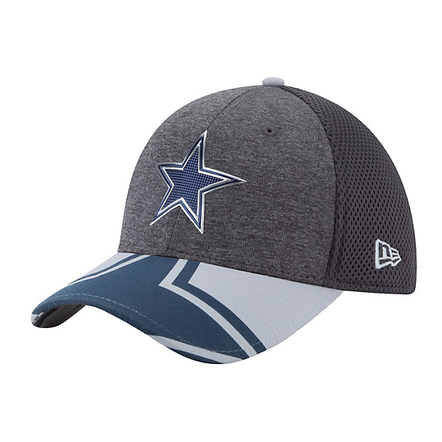 Dallas Cowboys New Era 2017 Draft Jr Spotlight 39Thirty Cap