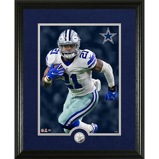 Dallas Cowboys Ezekiel Elliott Canvas Print Frame