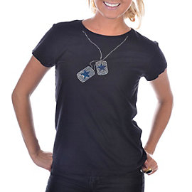 Dallas Cowboys Dog Tag Crew T-Shirt