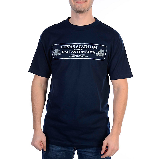 Dallas Cowboys Texas Stadium Image T-Shirt