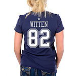 Dallas Cowboys Womens Jason Witten Her Player T-Shirt
