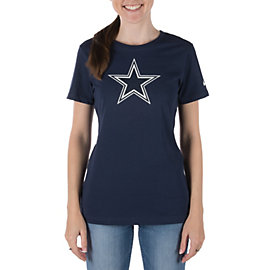 Dallas Cowboys Nike Womens Basic Logo Tee