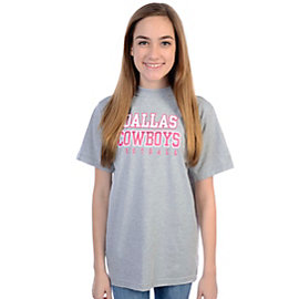 Dallas Cowboys Youth Girls Practice T-Shirt
