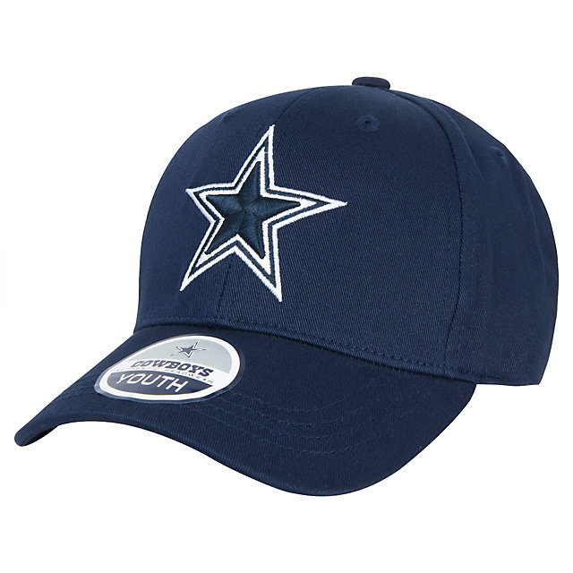 Dallas Cowboys Youth Basic Logo Brushed Cap