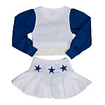 Dallas Cowboys Size 2-8 DCC Cheer Uniform