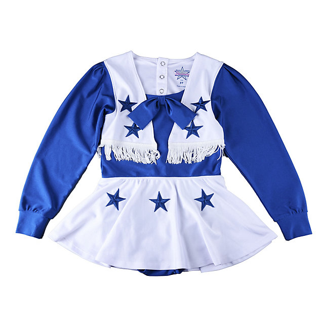 Dallas Cowboys Toddler Cheer Uniform