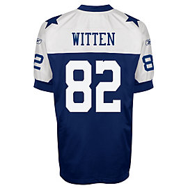 Dallas Cowboys Throwback Authentic Reebok Jersey - Witten