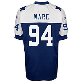 Dallas Cowboys Throwback Authentic Reebok Jersey - Ware