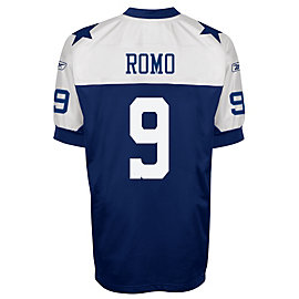 Dallas Cowboys Tony Romo Reebok Throwback Authentic Jersey