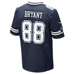 Dallas Cowboys Dez Bryant #88 Nike Navy Elite Authentic Jersey