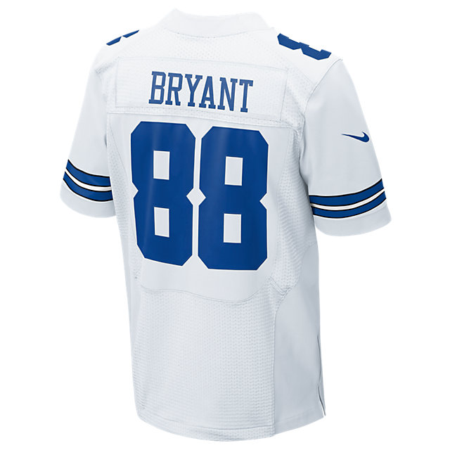Dallas Cowboys Dez Bryant #88 Nike White Elite Authentic Jersey