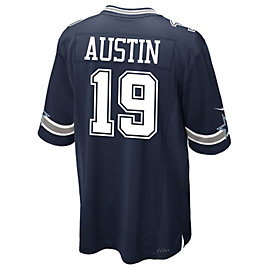 Dallas Cowboys Miles Austin #19 Nike Navy Game Replica Jersey 3XL-4XL