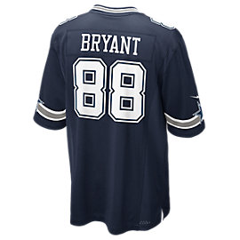 Dallas Cowboys Dez Bryant #88 Nike Navy Game Replica Jersey