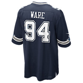 Dallas Cowboys DeMarcus Ware #94 Nike Game Replica Jersey 3XL-4XL