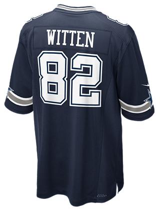 Dallas Cowboys Jason Witten #82 Nike Navy Game Replica Jersey ...