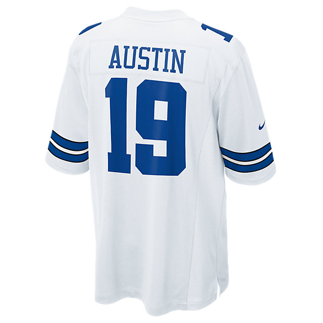 Dallas Cowboys Miles Austin #19 Nike White Game Replica Jersey 3XL-4XL