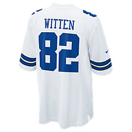Dallas Cowboys Jason Witten #82 Nike White Game Replica Jersey 3XL-4XL