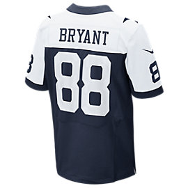 Dallas Cowboys Bryant Nike Elite Authentic Throwback Jersey