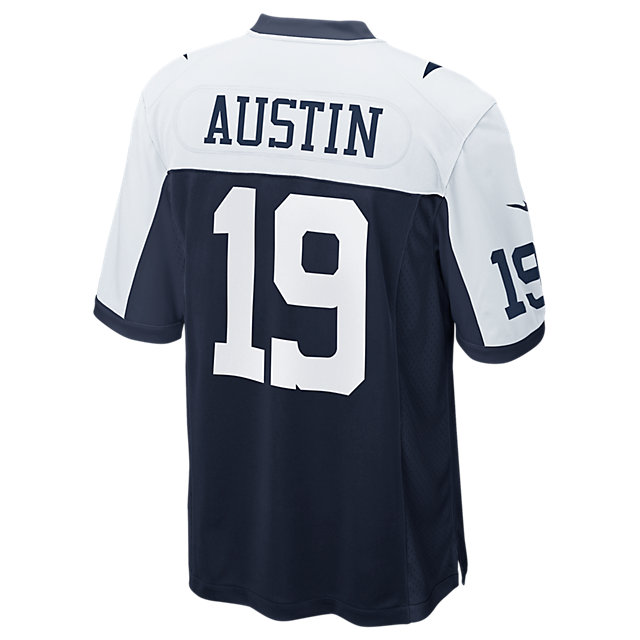 Dallas Cowboys Miles Austin #19 Nike Game Replica Throwback Jersey