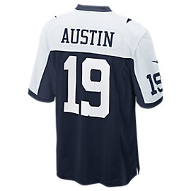Dallas Cowboys Miles Austin #19 Nike Game Replica Throwback Jersey 3XL-4XL